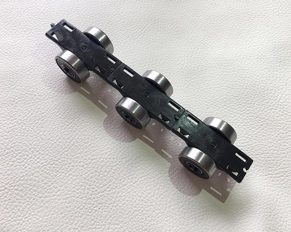 Kone old single black rotary chain